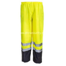 High Visibility Class E Waterproof Green Pants