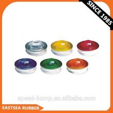 Diferentes colores 360 grados Reflective Glass Road Stud