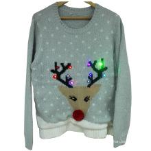 16PKCS02 led lightup sweater for christmas holiday