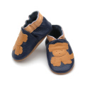 Meilleur vente Cartoon Real Leather Baby Shoes