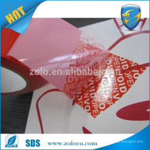 tamper evident security sealing tape