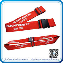 2015 Promotional Items Luggage Strap with Customised Logo (HN-LE-006)