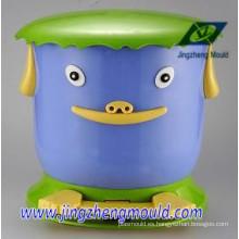 Artículos de plástico para el hogar Molde de la caja del cubo de basura / moldeo