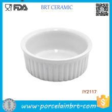 Hot Sale Kitchenware Ceramic Pudding Mould Cookware