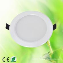Luz de interior fina blanca de la alta calidad caliente de la venta 100-240v 4 pulgadas smd5730 9w luz de techo llevada empotrada 9w