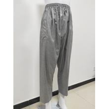 Pantalon long arabe en tissu de coton pour hommes avec poche