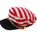 Moda personalizada hombres y mujeres llano tapa plana tapa sombrero