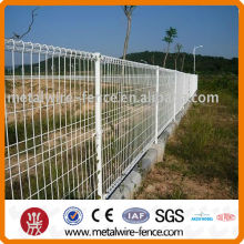 Circle top iron fence