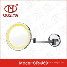 Wall Mounted Movable LED Makeup Mirror