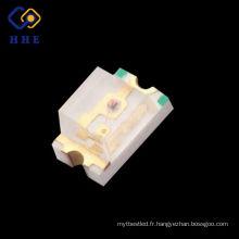 Diode SMD 0805 LED de couleur jaune claire d'eau pour la conception DIY menée