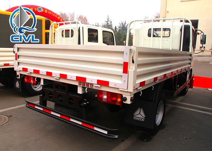 White Light Cargo Sidewall Truck 2