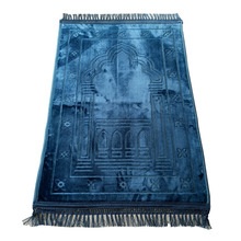 Wholesale High Quality Cotton Yarn Material Prayer Mat, Durable Islam Prayer Mat, Delicate Muslim Prayer Mat