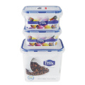 Armazenamento empilhável do alimento dos recipientes plásticos da melhor cozinha da alta qualidade