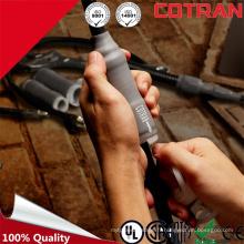 Certificat SGS de qualité élevée Tubulure extensible en silicone en caoutchouc