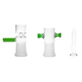 Reciclador de vidrio Bubbler tuberías de agua con cámara de recambio de dos tubos (ES-GB-369)