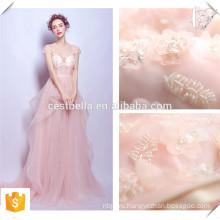 Розовый спагетти ремень с плеча женщины вечерние платья /вечернее платье розовый платье невесты