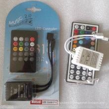 Contrôleur à distance à bande LED RGB 5050 imperméable à l'eau