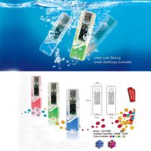 USB Flash Drive w / Liquid Decoração (12D37001)