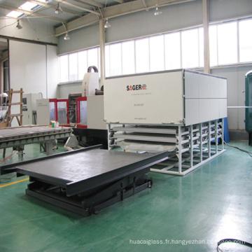 Machine de stratification automatique de verre de nouvelle technologie