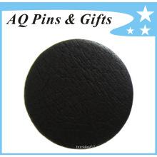 Profesional Fabricante falso cuero Tinplate insignia del botón (botón badge-57)