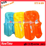 hot sale pvc inflatable swim vest