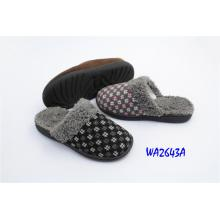 Women's Fashion Winter Plush Low-heel Indoor Slippers with Collar