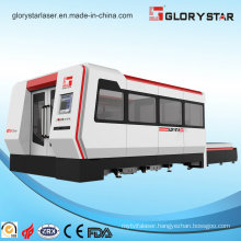 Metal Fiber Laser Cutting Machine with Full Enclosed Exchangeable Worktable