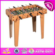 2014 Günstige Holztisch Fußball für Kinder, Neueste Tischfußball Spielzeug für Kinder, Indoor Tischfußball für Baby Fabrik W11A030