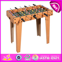 2014 Cheap Wooden Table Football for Kids, Latest Table Football Toy for Children, Indoor Table Football for Baby Factory W11A030