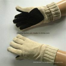 7г круг машина молочный цвет акриловые трикотажные кожаные перчатки