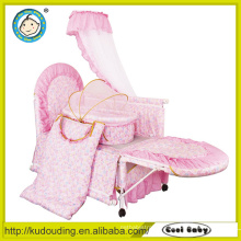New en1888 luxury design travel system lovely kid's crib