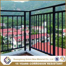 Moderne einfache schöne dekorative Schmiedeeisen Balusters, Indoor Balkon Geländer
