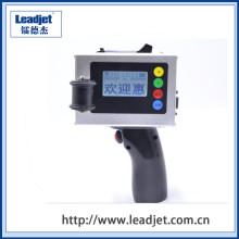 Impressora de código de data de jato de tinta portátil Mini S100