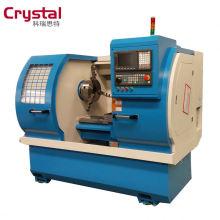 Machines de roue de coupe de diamant de tour de commande numérique par ordinateur de roue d'alliage à vendre AWR2840