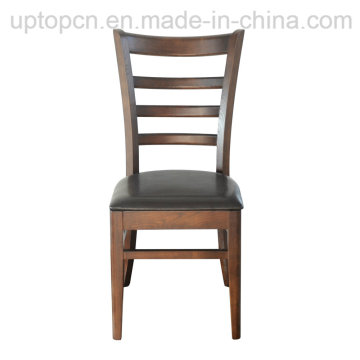Restaurant Leather Chair Dining Wood Chair (SP-EC162)
