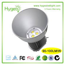 90W Aluminium material led highbay lighting with 3 year warranty