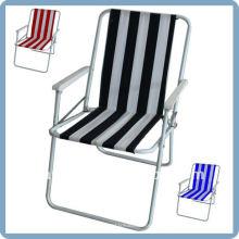 складной стул пляжа с 600D Оксфорд ткань и стальной каркас