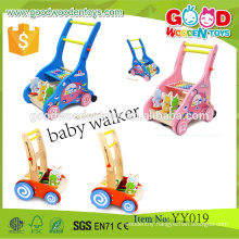 EN71/ASTM New Product Preschool Toddler Walking Frames OEM/ODM Wooden Educational Baby Walker