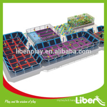 indoor commercial used gym equipment trampoline bed with basketball hoop LE.BC.066                                                     Quality Assured