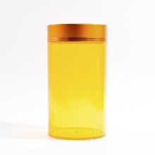 Frascos plásticos do cilindro de 256ml para produtos dos cuidados médicos (EF-J210256)