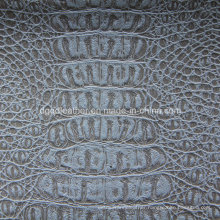 Top Grade Crocodile Design for Upholstery Leather (QDL-53198)