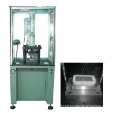 Máquina de doblar y dar forma a la bobina del campo magnético