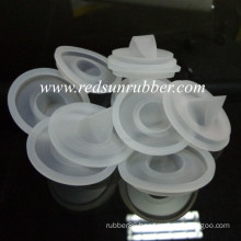 Custom Mold Silicone Rubber Duckbill Valve Part