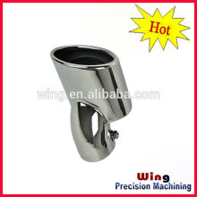 car exhausted pipe with electroplating