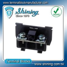 TS-025 25A Cassette en plastique des bornes à vis électriques