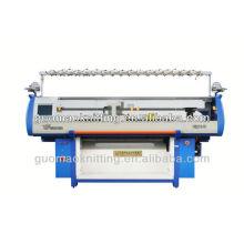 Doppelanlage unregelmäßige Multi-Color Jacquard EDV Flachstrickmaschine