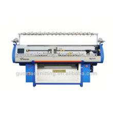 double system irregular multi-color jacquard computerized flat knitting machine
