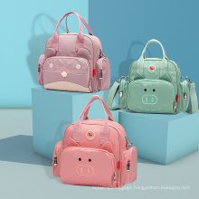 Custom Multi-Function Mummy Maternity Bag Travel Baby Backpack High Quality Fashion Waterproof Leather Diaper Bag Backpack