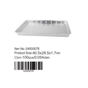 Aluminium foil sheet pan