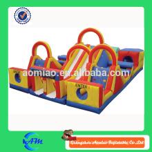 Infantiles infantiles obstáculos campo de juegos infantiles inflables baratos para la venta